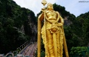 Lord Murugan Statue Up Close